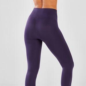 Small Purple Tall Hi Waist Sport Legging by Kyodan